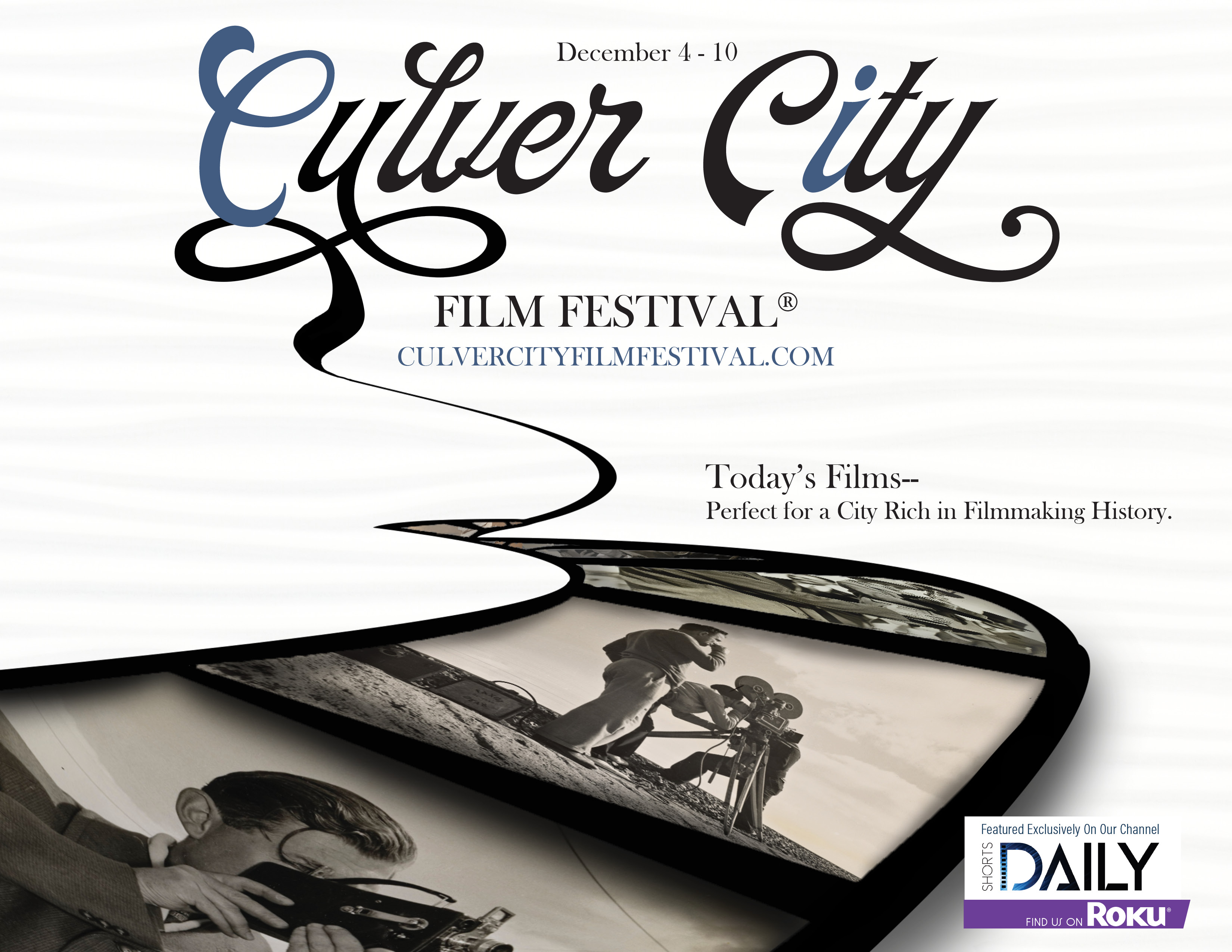 Get Inspired by the 2020 Culver City Film Festival on the ShortsDaily Channel on Roku