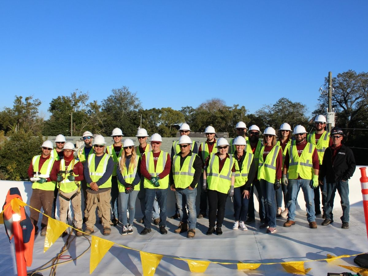 COVID-19 Heroes and Non Profit Given Free Roofs by Jacksonville FL Company