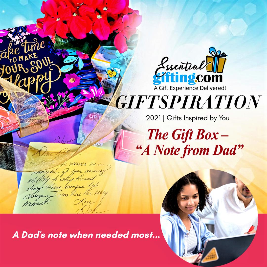Coffret cadeau «Une note de papa» par Essentialgifting.com