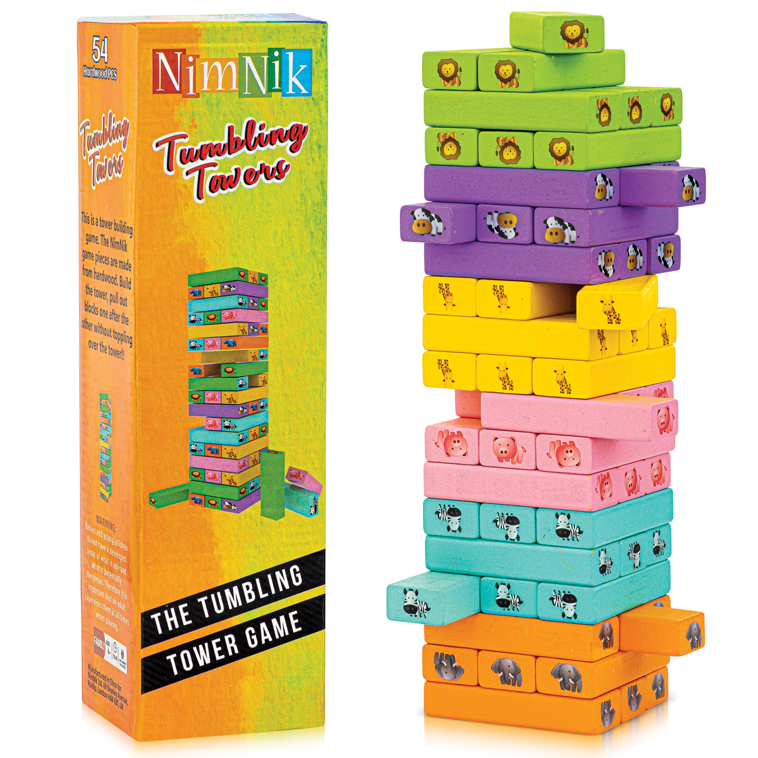 Get an Exciting Family Game This Christmas, Try the Nimnik Tumbling Towers; Available on Amazon