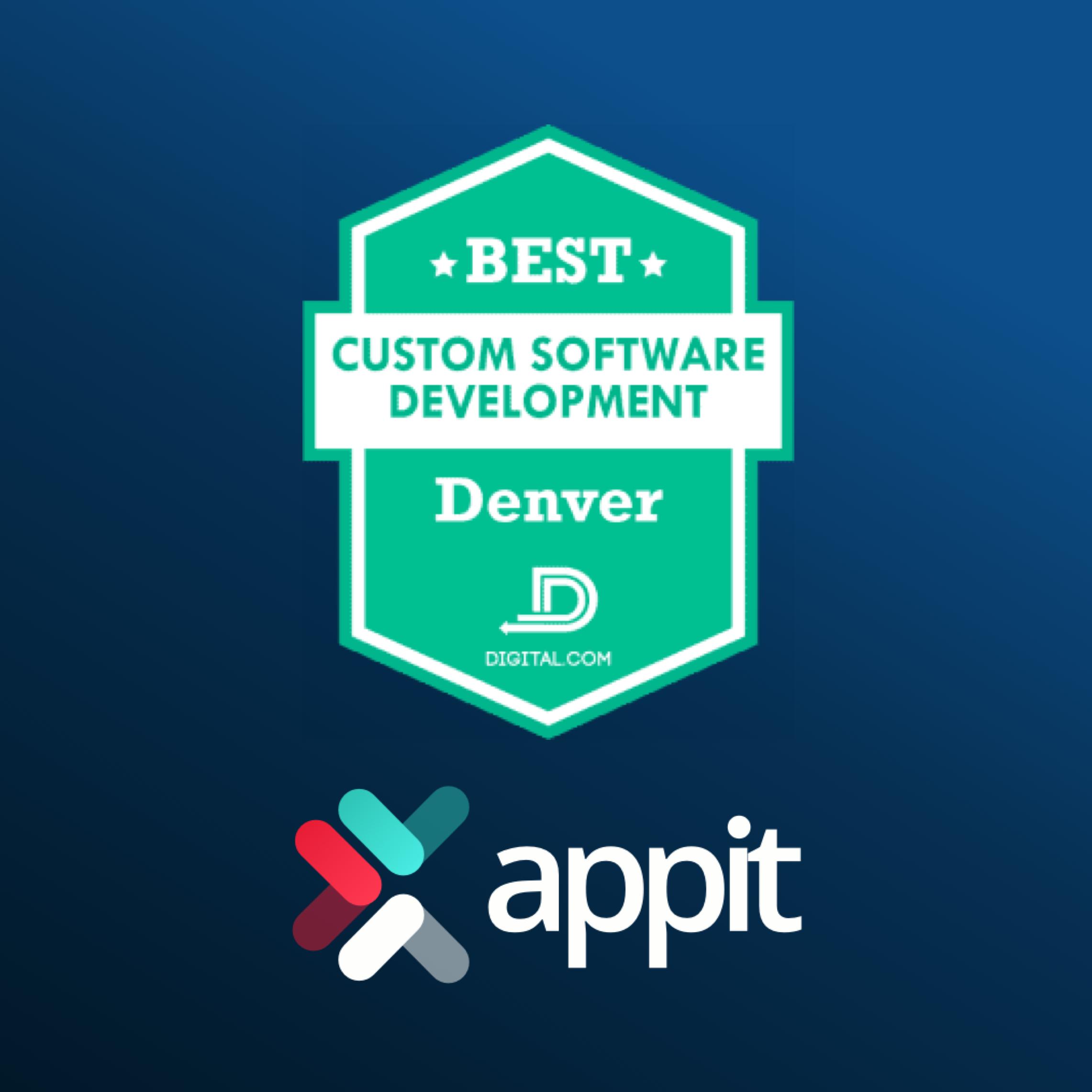 AppIt Ventures Named Best Custom Software Developer in Denver by Digital.com