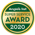 All Clear Dryer Vent Cleaning of KC Earns 2020 Angie's List Super Service Award