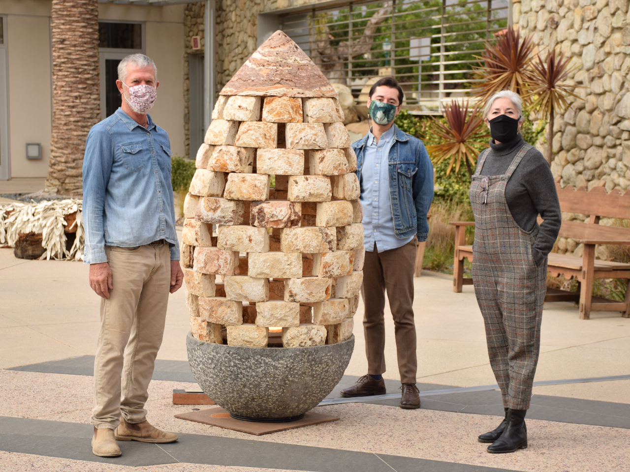 Kevin Carman's Acorn Lamp Sculpture is a Seed of Connection for Ventura's Art Scene