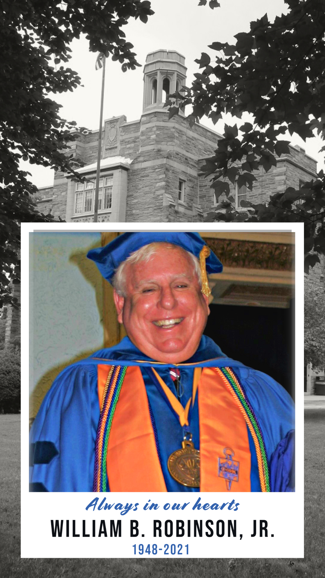 Pennsylvania Institute of Technology (P.I.T.) Announces the Passing of President William B. Robinson, Jr.