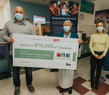 APC by Schneider Electric Names New Haven Public Schools as Winner in K-12 IT Makeover Contest