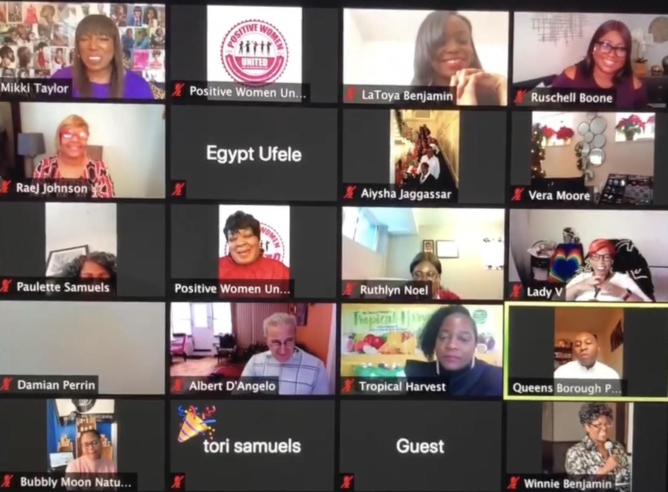 Celebrating Empowering Women Virtual Holiday Expo Dec. 19, 2020 and Caribbean Impact Life Virtual Awards Honoree on February 18, 2021