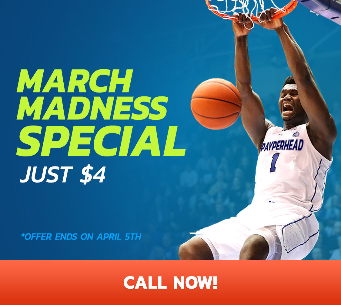 Bookies Are Ready for NCAA March Madness to Return
