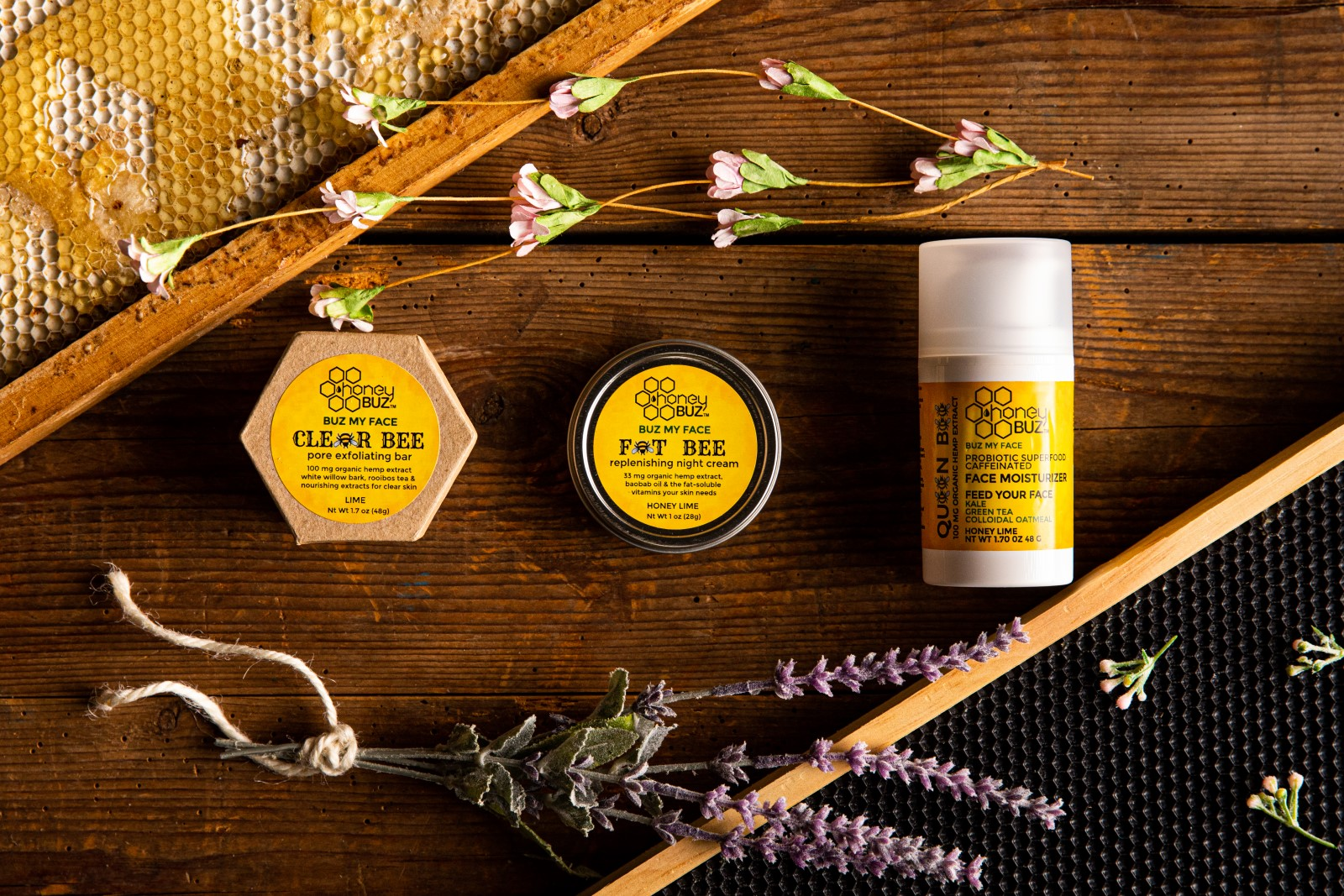 """Honey Buz Releases """"Buz Your Face""""; All Natural Skin Care Line, Salon Crafted """"True Face Care"""" for Your Skin Regime"""