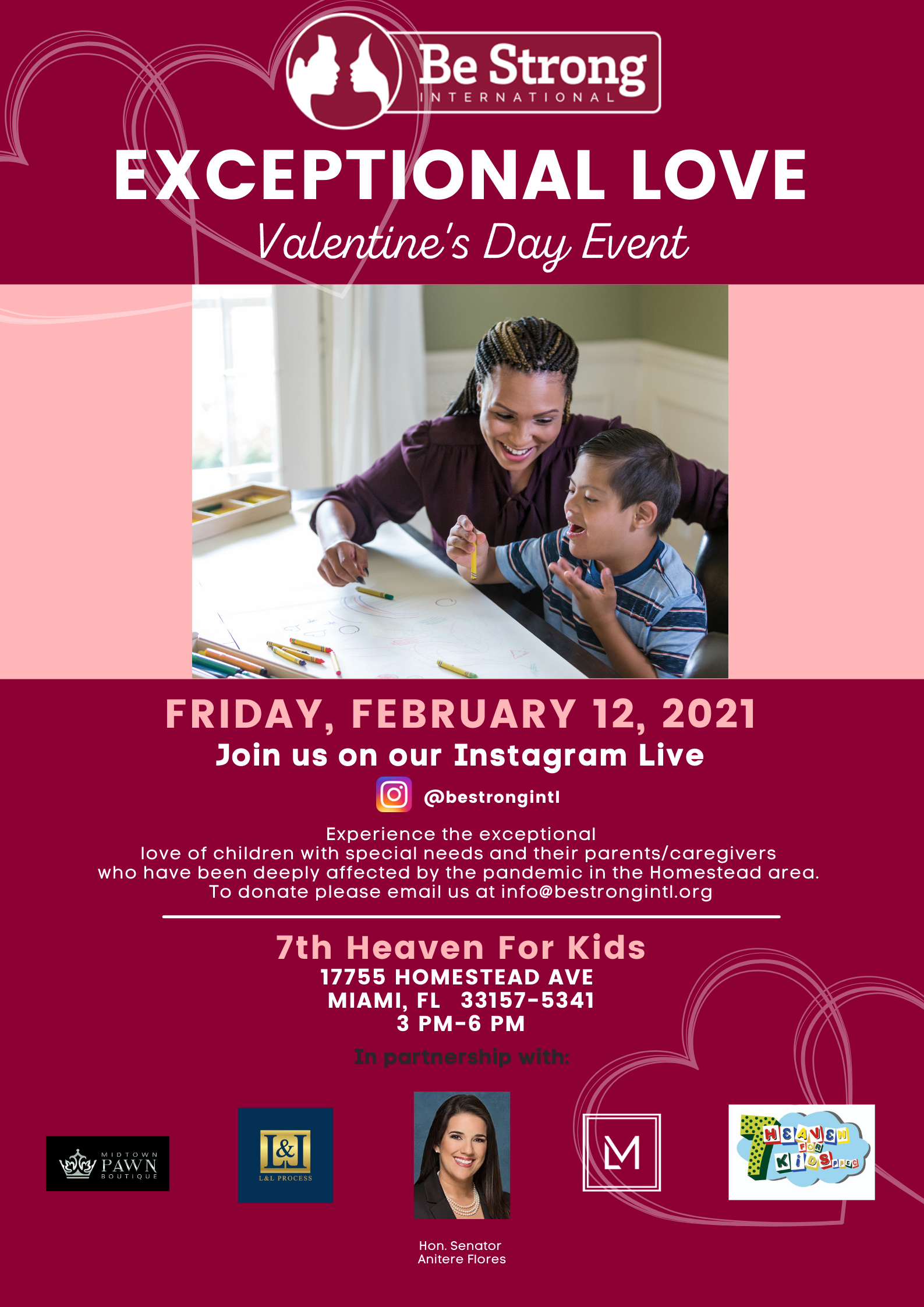 Special Needs Kids Get Exceptional Love from Be Strong Int'l for Valentine's Day