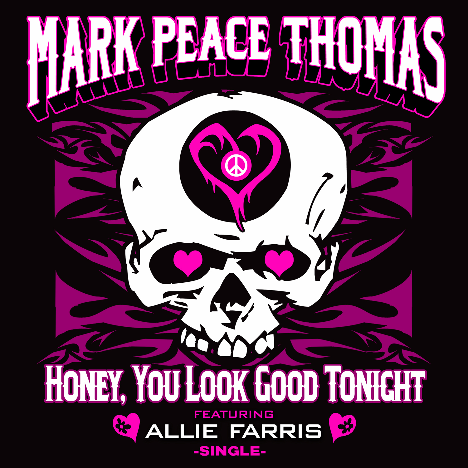 """Mark Peace Thomas Offers Up """"Hard Rock Candy"""" This Valentine's Day with Singer Allie Farris by Saying Goodbye to Boring Love Songs"""