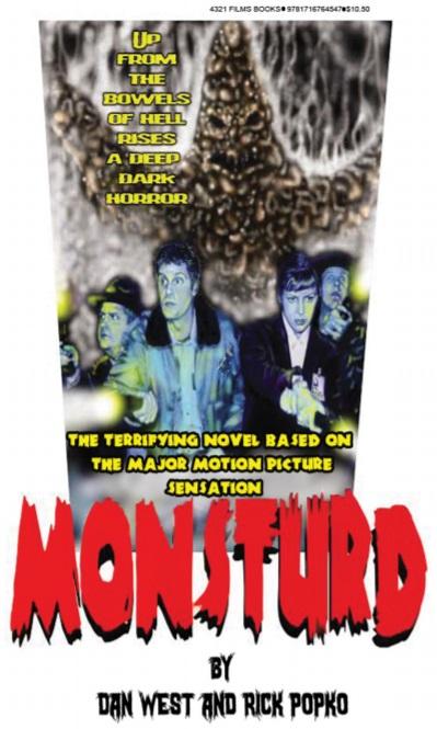 """4321 Films Debuts Novelization of the Cult Hit """"Monsturd"""""""