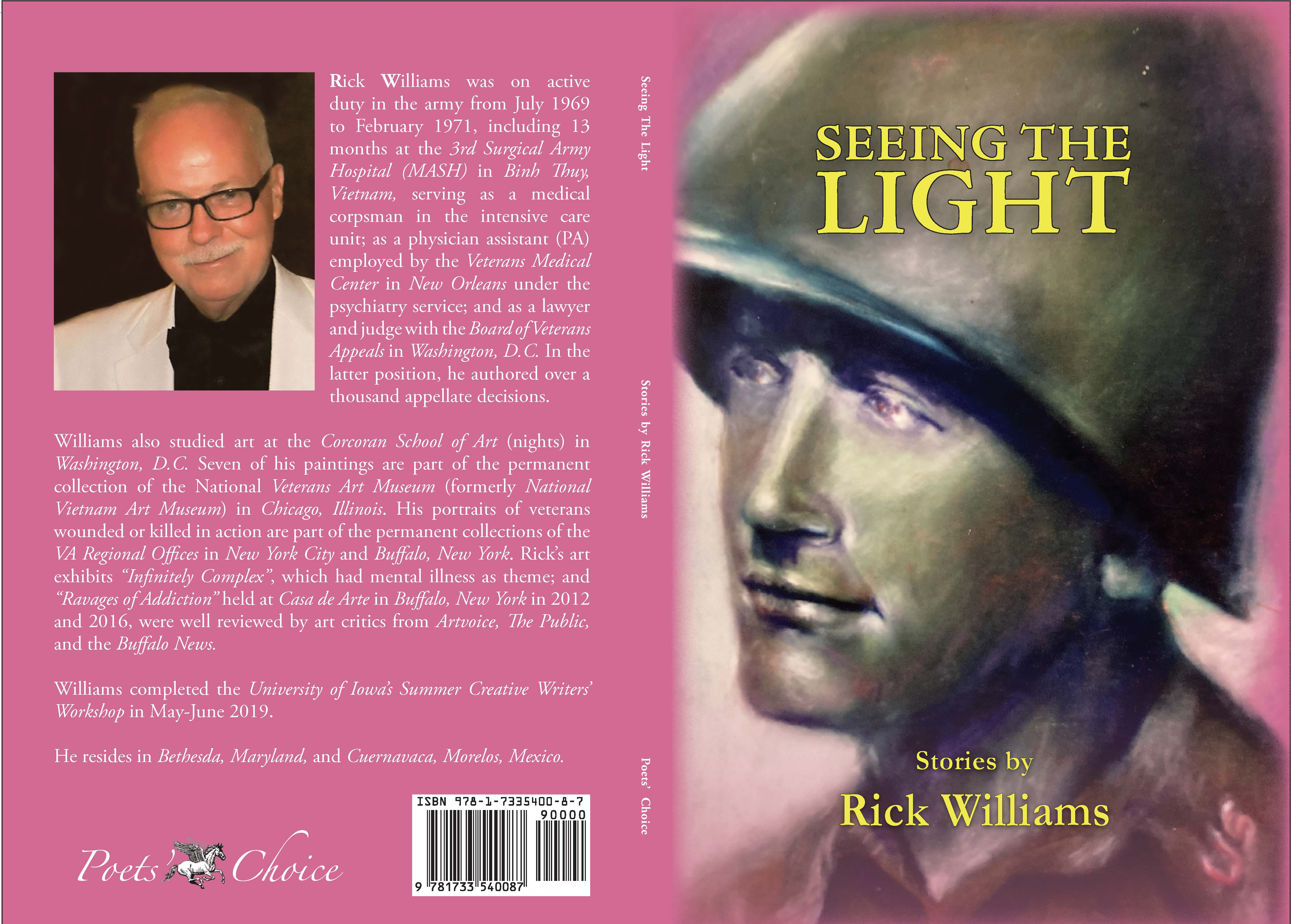 Poet's Choice Publishing is Proud to Announce the Publication of SEEING THE LIGHT, Short Stories and Artwork by Rick Williams