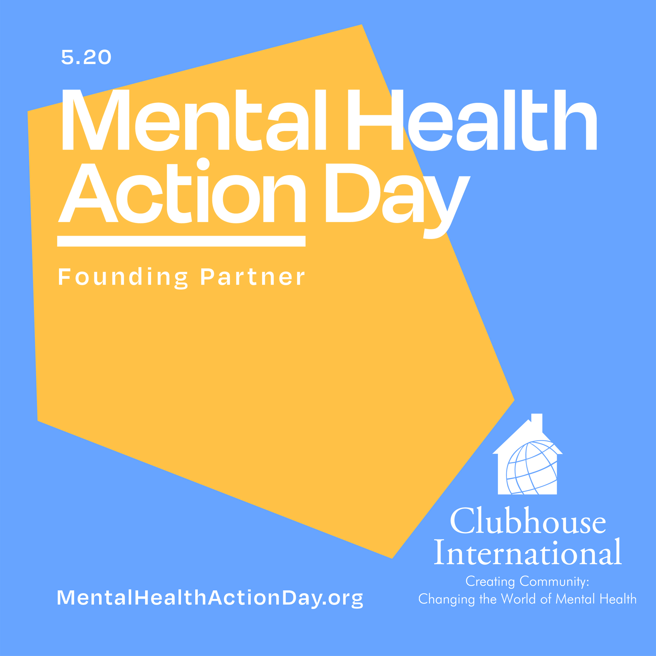 Clubhouse International Teams Up with Nearly 200 Businesses and Non-Profits for Inaugural Mental Health Action Day