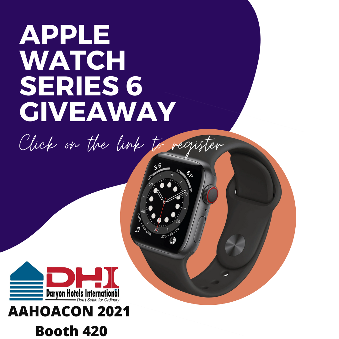 Apple Watch Series 6 Giveaway by Daryon Hotels