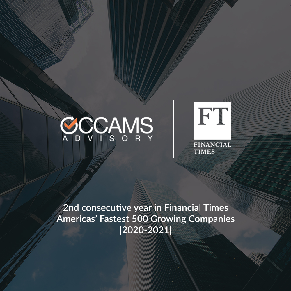 Financial Times: The Americas' Fastest Growing Companies Ranking 2021