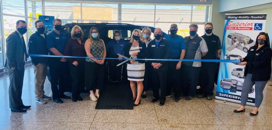 Superior Van & Mobility Celebrates New State-of-the-Art Facility with Ribbon Cutting