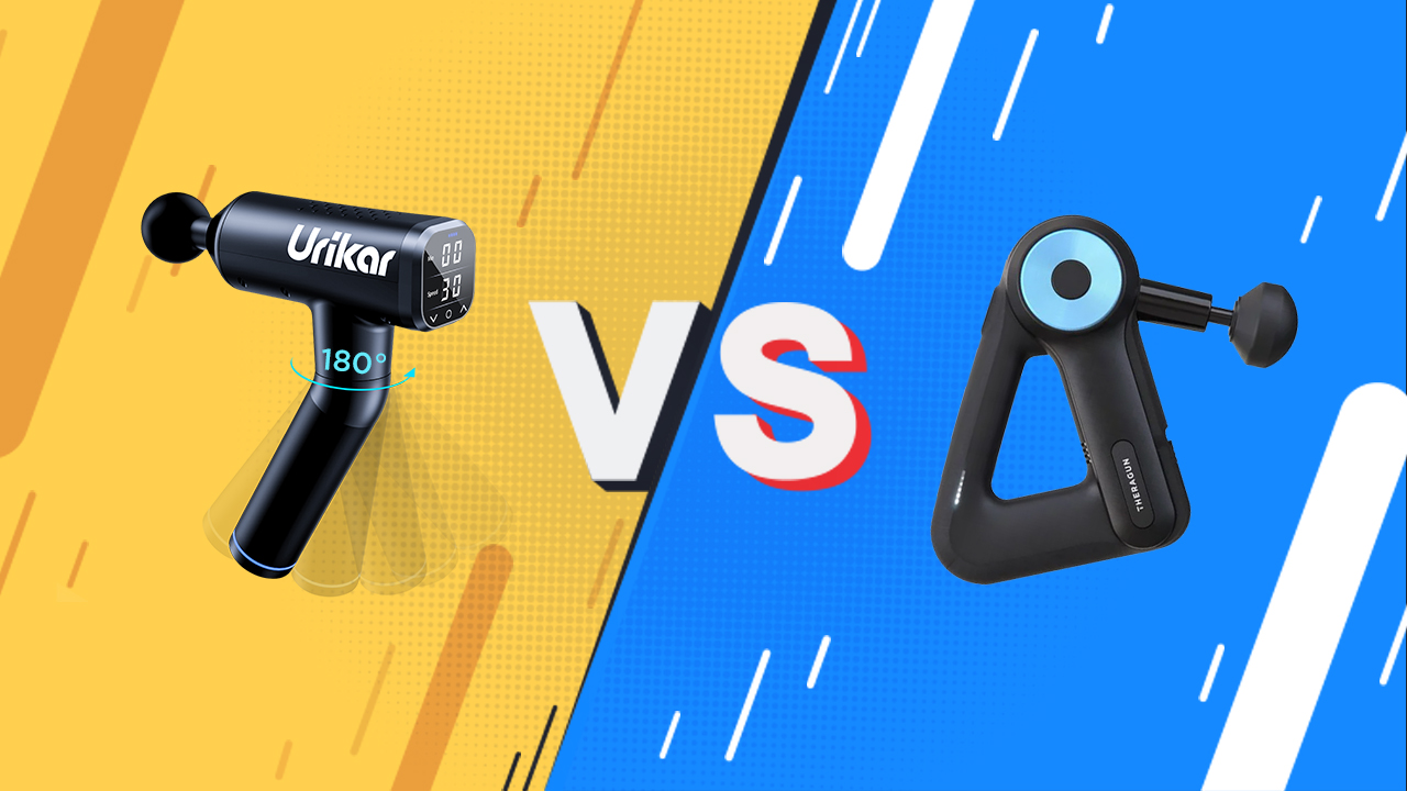 A Head-to-Head Comparison Between Urikar Pro 3 and Theragun G3PRO