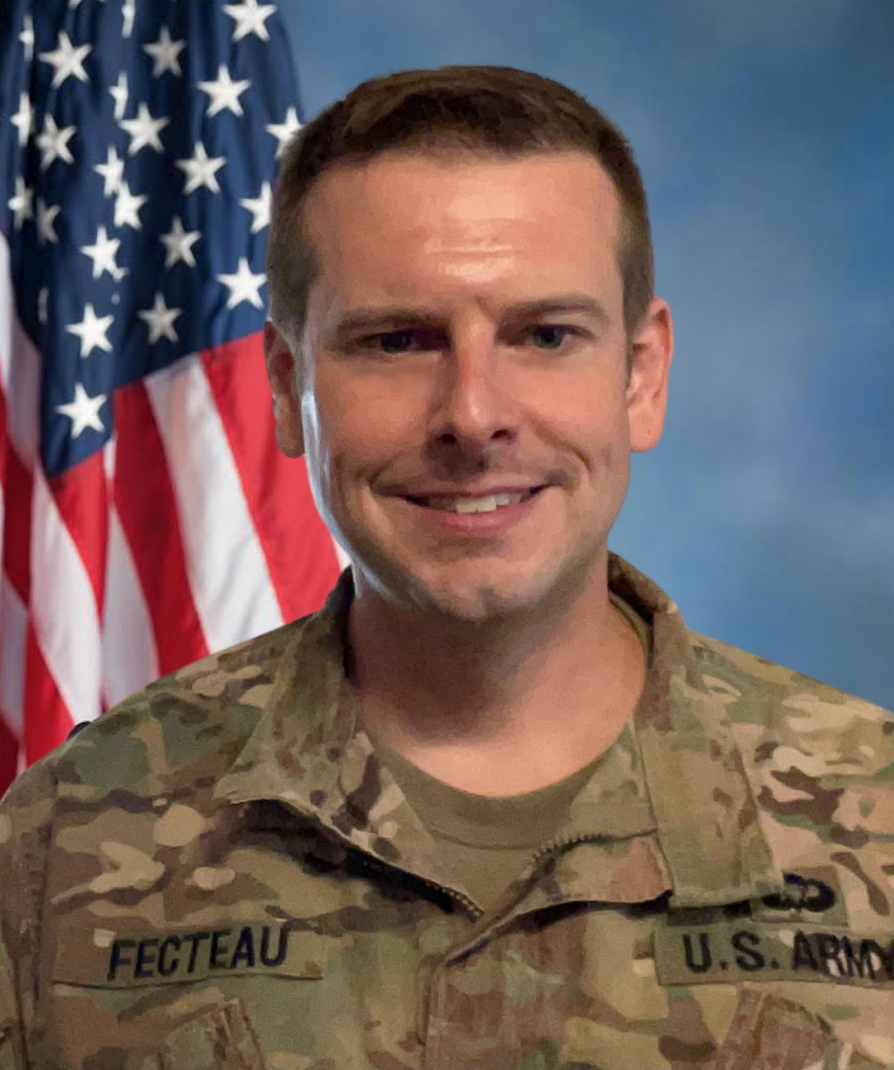 The US Army Promoted Fecteau to Lieutenant Colonel