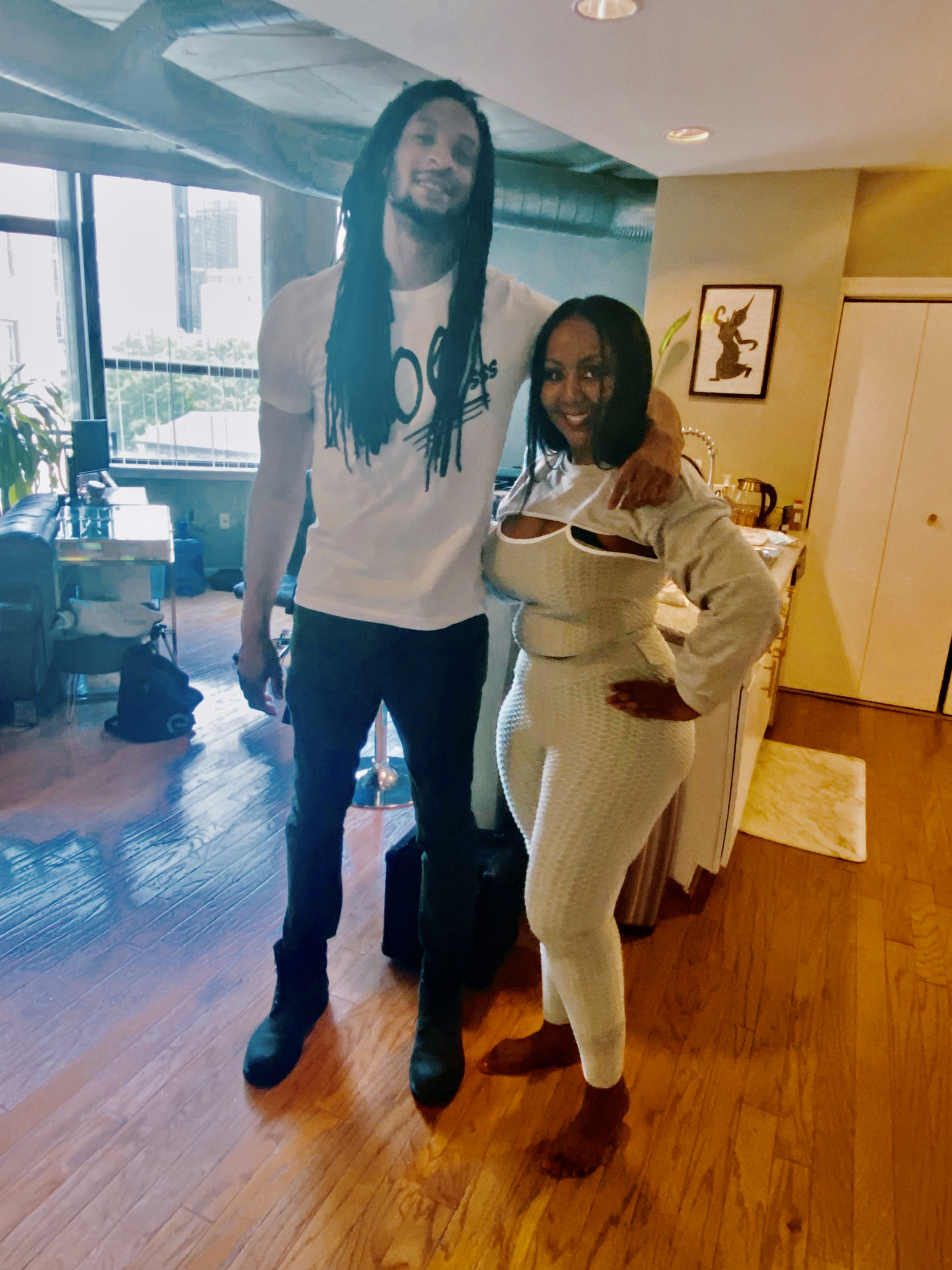 """Reality TV Star Kimberly D. Worthy and Model Darryl """"DC"""" Chambers Bring the #FreakoutChallenge to Social Media"""