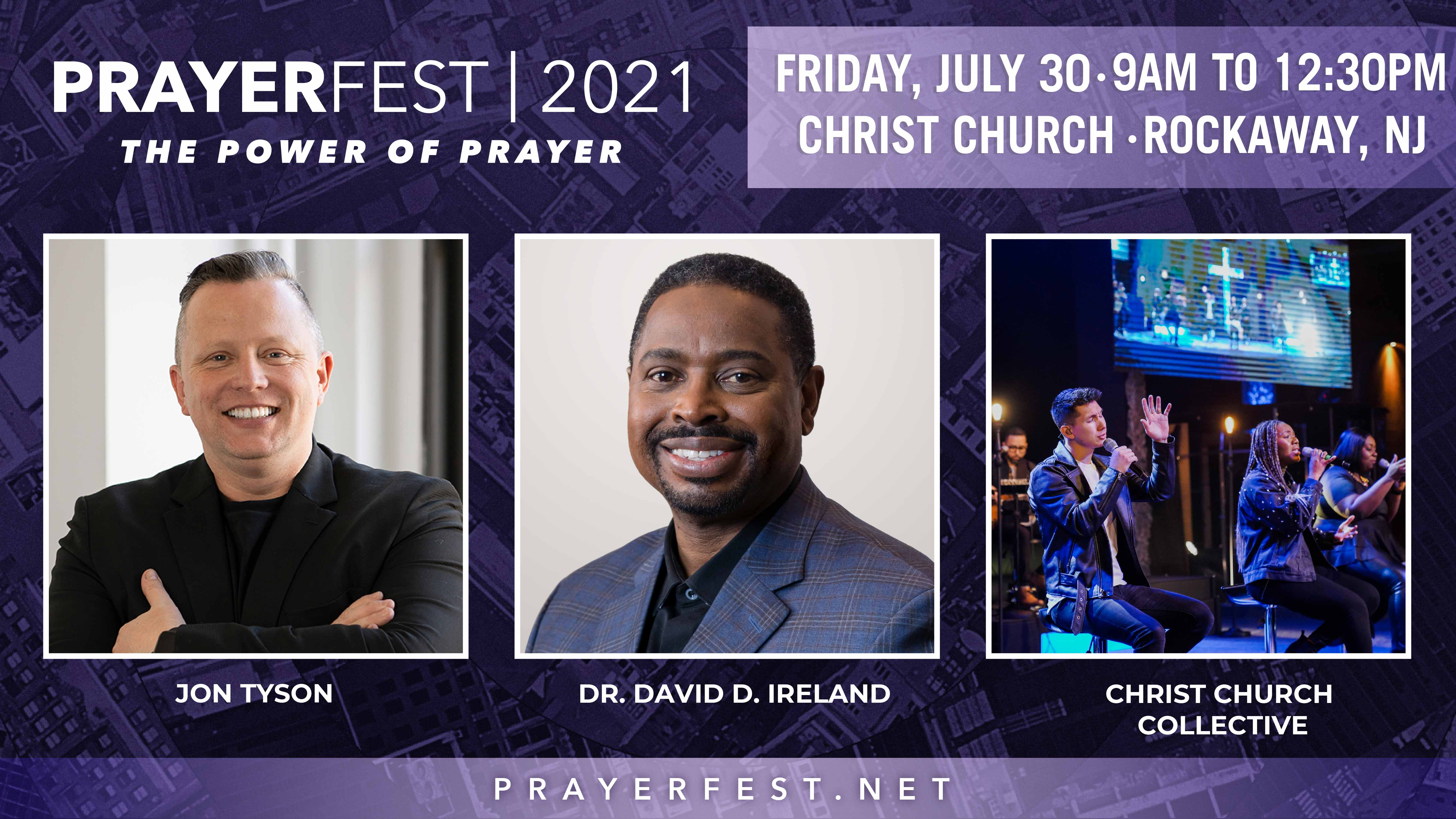 Christ Church Prepares to Host Prayerfest 2021