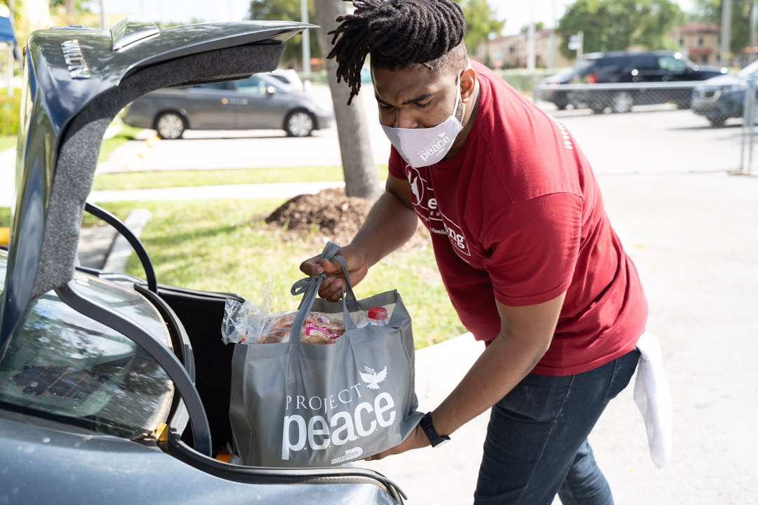 Miami-Dade County Partners with Be Strong to Bring Project P.E.A.C.E. to Goulds Community