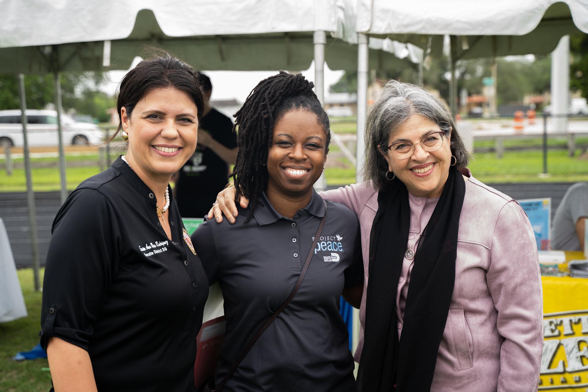 Project P.E.A.C.E. Community Fun Day Attracts Notable Community Support