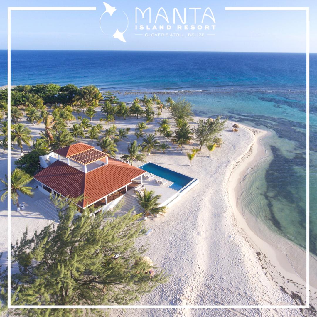 Manta Island Resort Opens in Belize