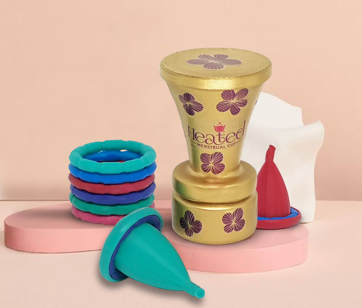 Abyan Nur Announces Heated Menstrual Cup Kickstarter Project for Safe and Eco- Friendly Relief from Premenstrual Syndrome (PMS)