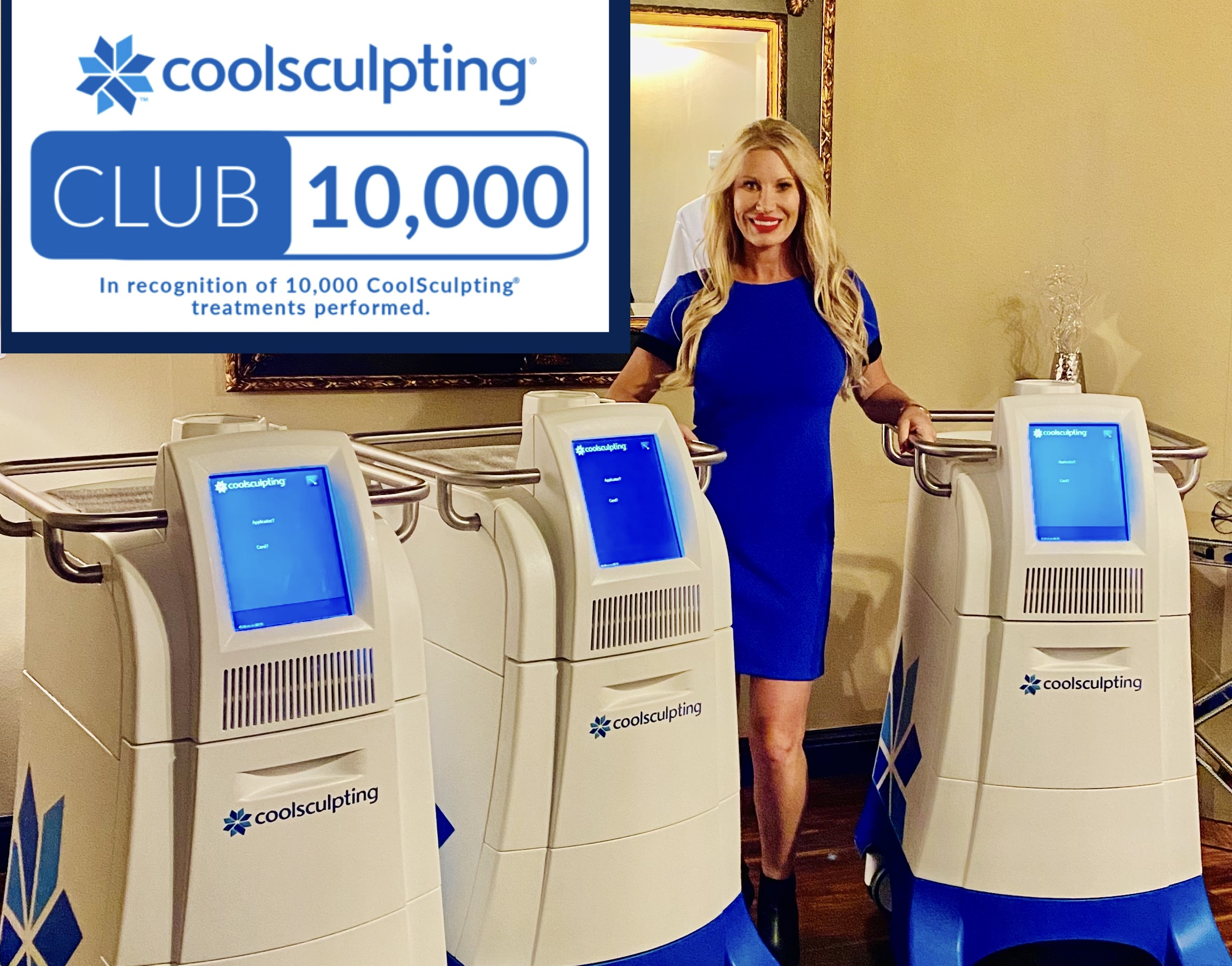 CoolSculpting Las Vegas Clinic Secret Body Does It Again in 2021, Attaining #1 in Las Vegas and Nevada for the Fat Freezing Procedure; Awarded Club 10,000