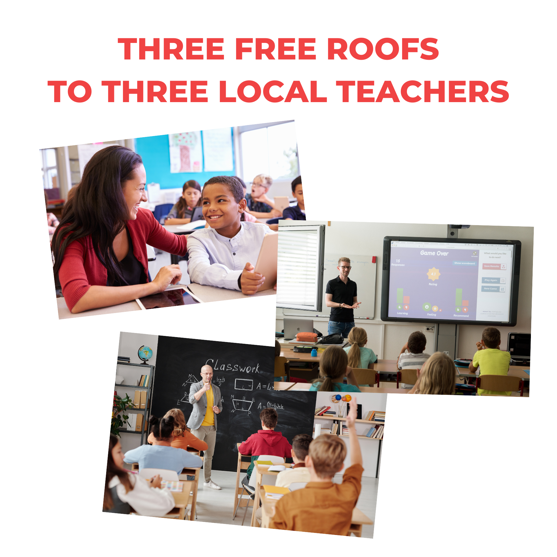 Jacksonville Company Grants New Roofs to Local Teachers in Its Annual Program