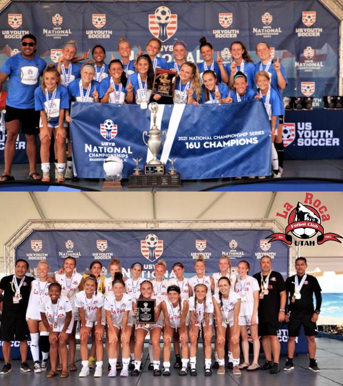 La Roca FC 2005 Girls Are National Champions