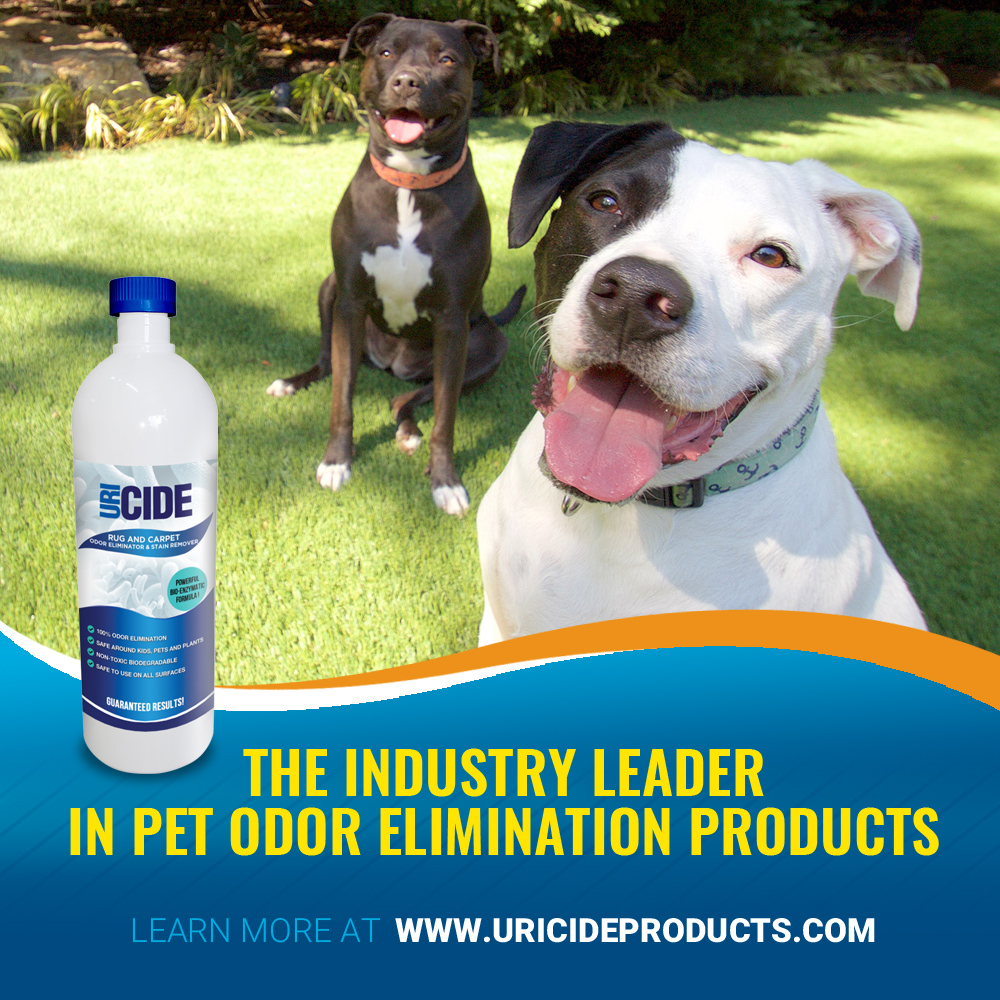 URICIDE® Solves Pet Odor Problems with Amazing New Technology