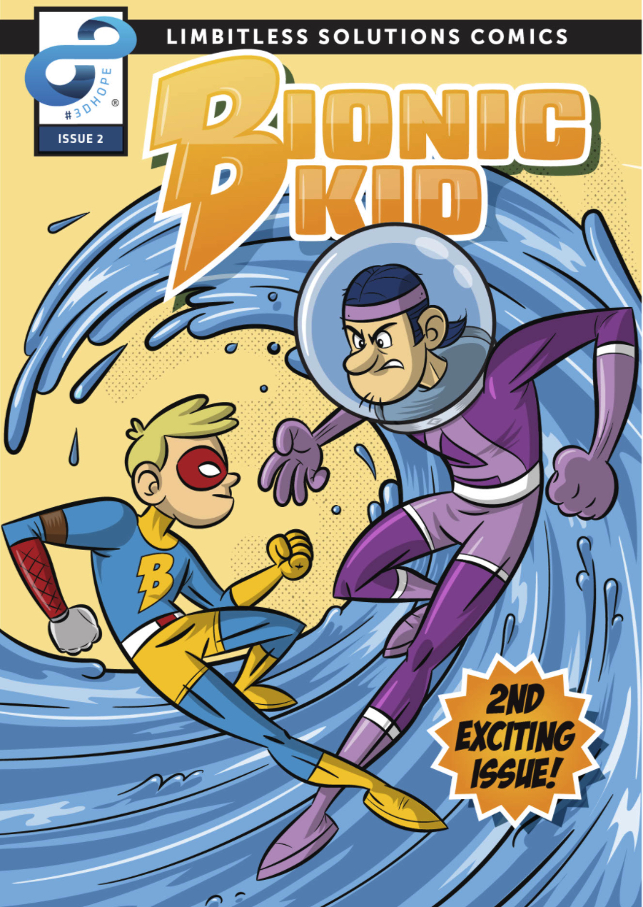 The Bionic Kid, Second Issue Released