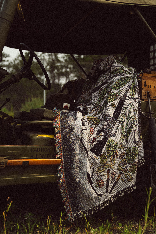 Kitfox Design Group Releases The Vietnam Throw Blanket