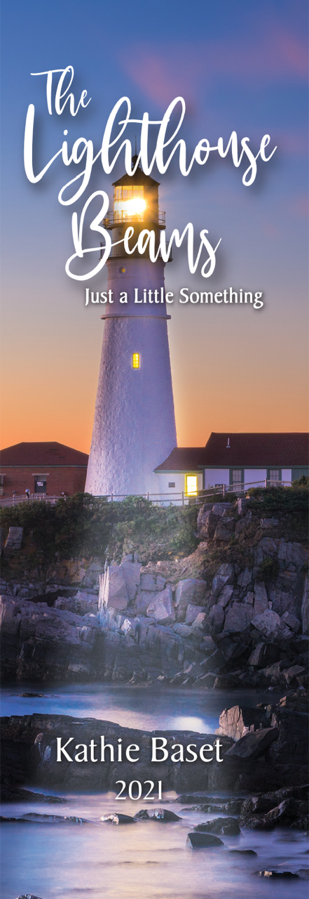 """New Book and Author; """"The Lighthouse Beams Just A Little Something"""" by Kathie Baset"""