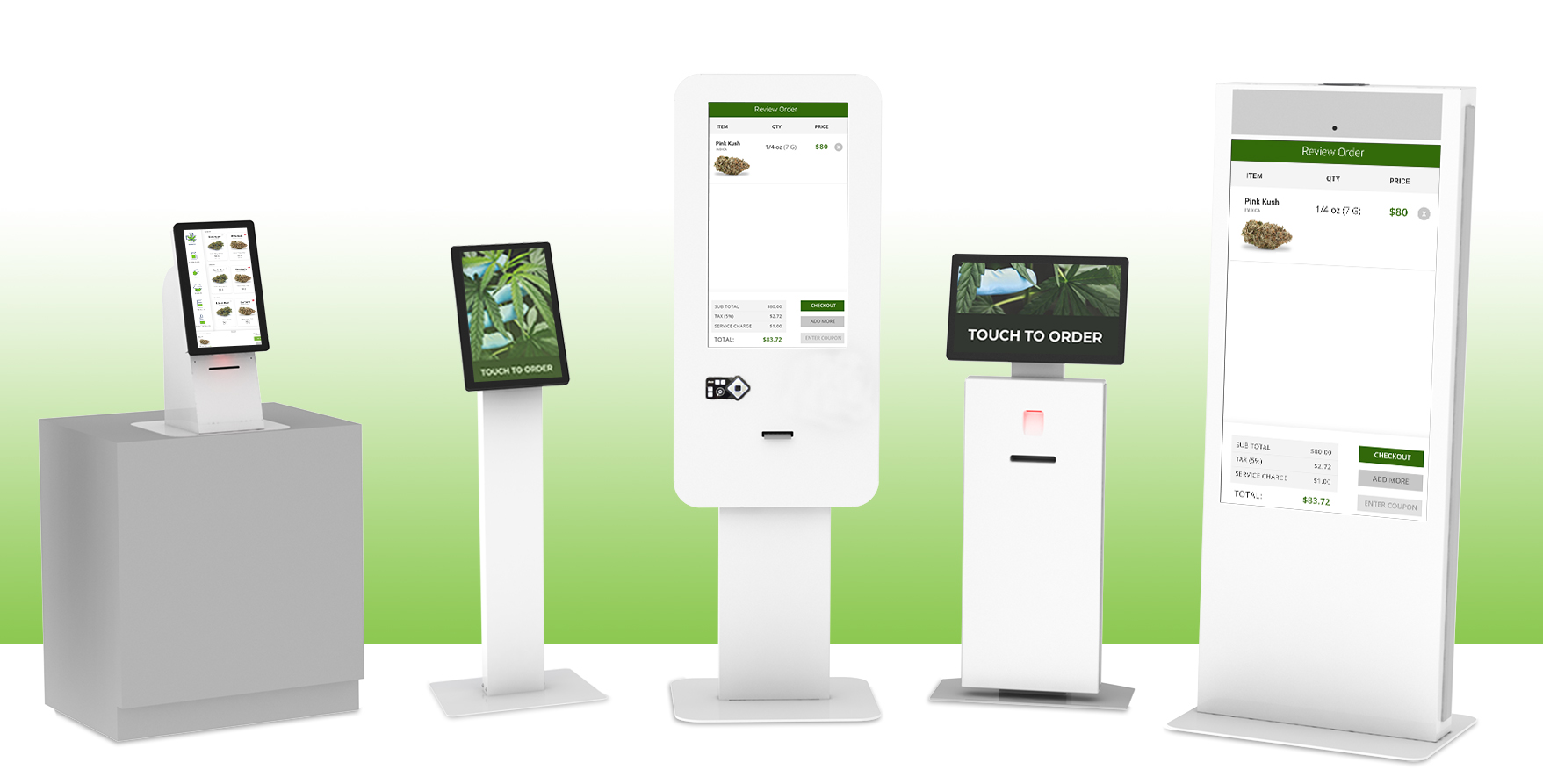 A Self-Service Cannabis Kiosk That Offers Digital Payment Processing