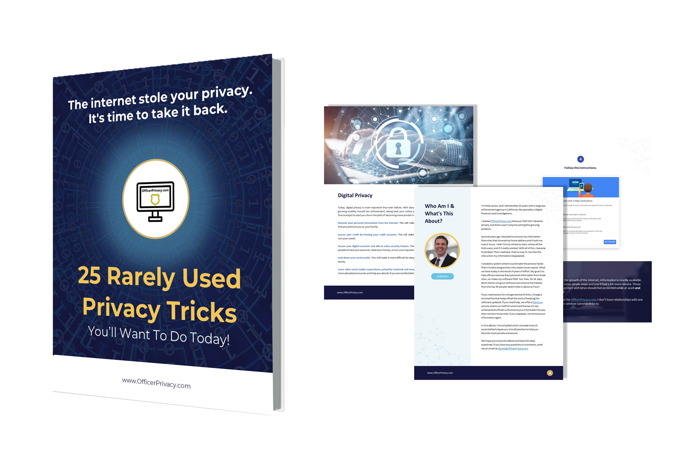OfficerPrivacy.com Updates Their Already Successful e-Book with New Rarely Used Online Privacy Tricks