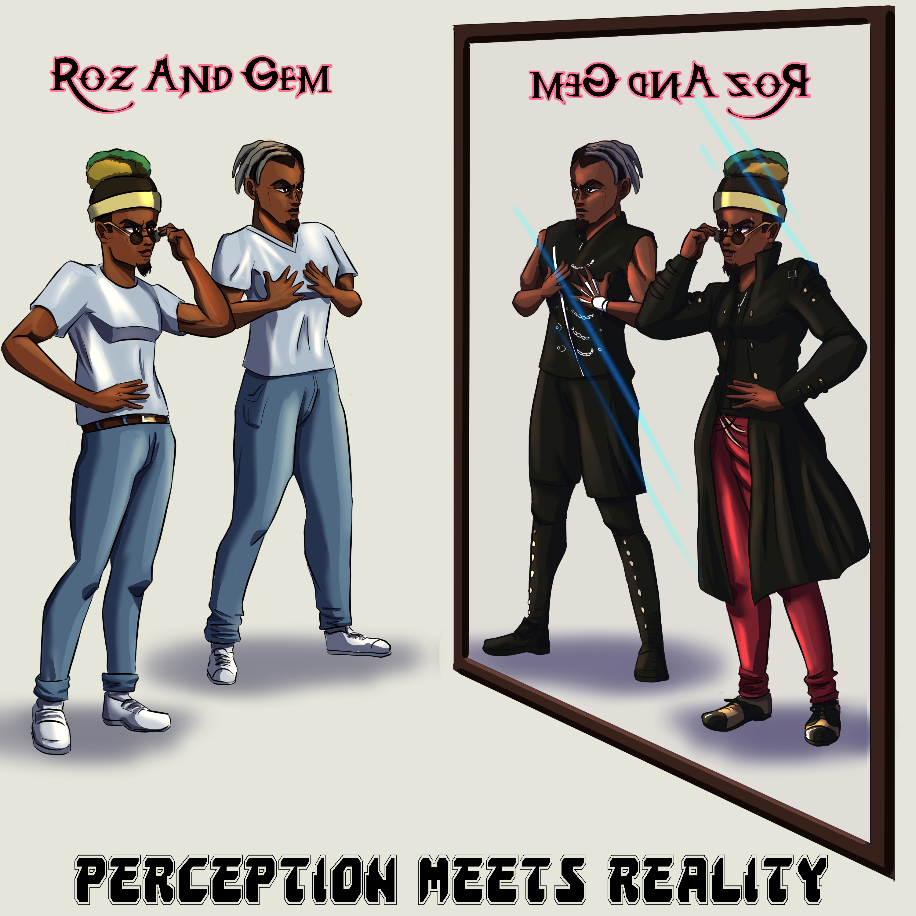 Roz And Gem Gives Back with the Release of Their Album Perception Meets Reality