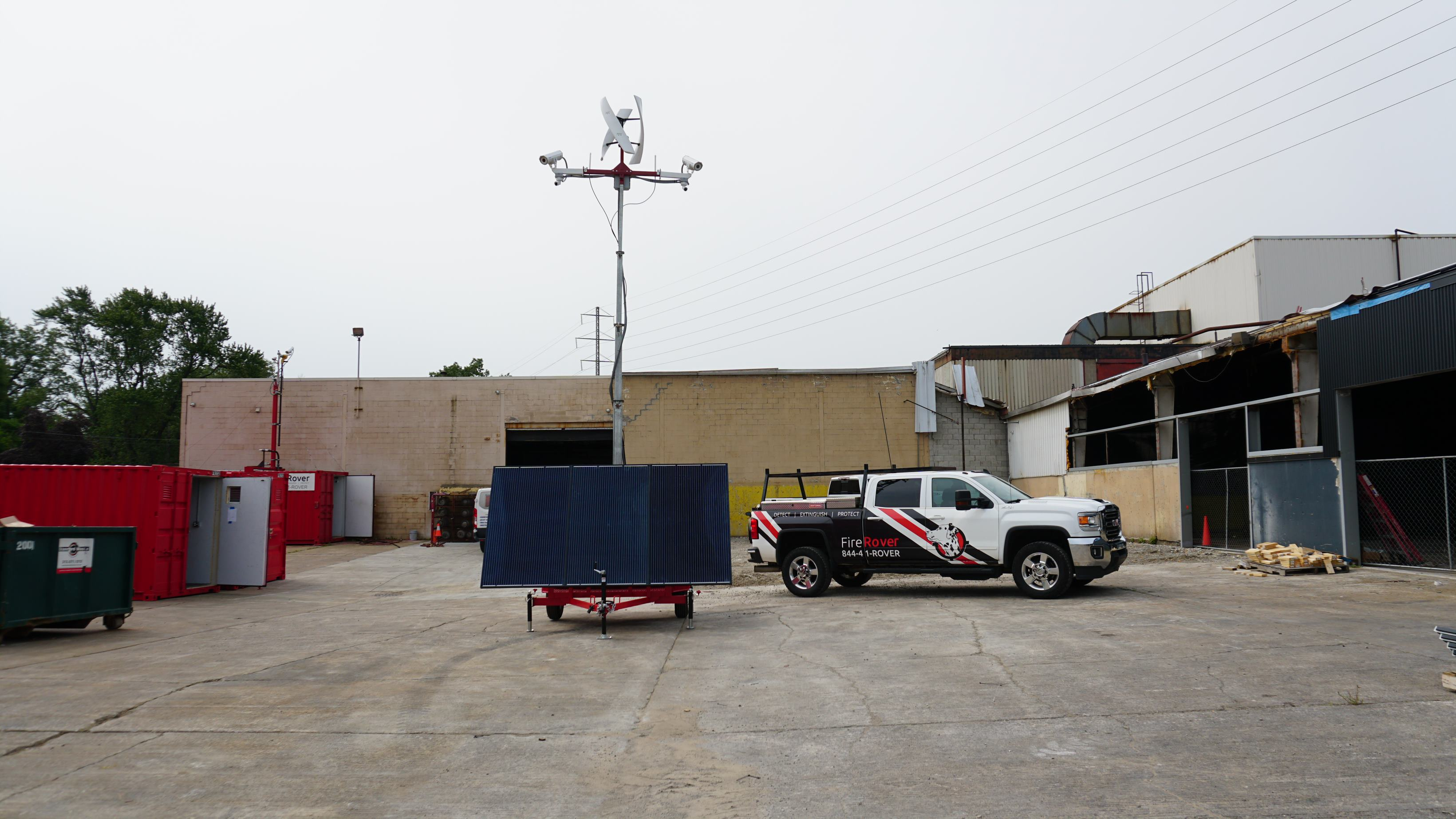 Fire Rover Launches Early Detection Solution for Landfills, Wildfires & More