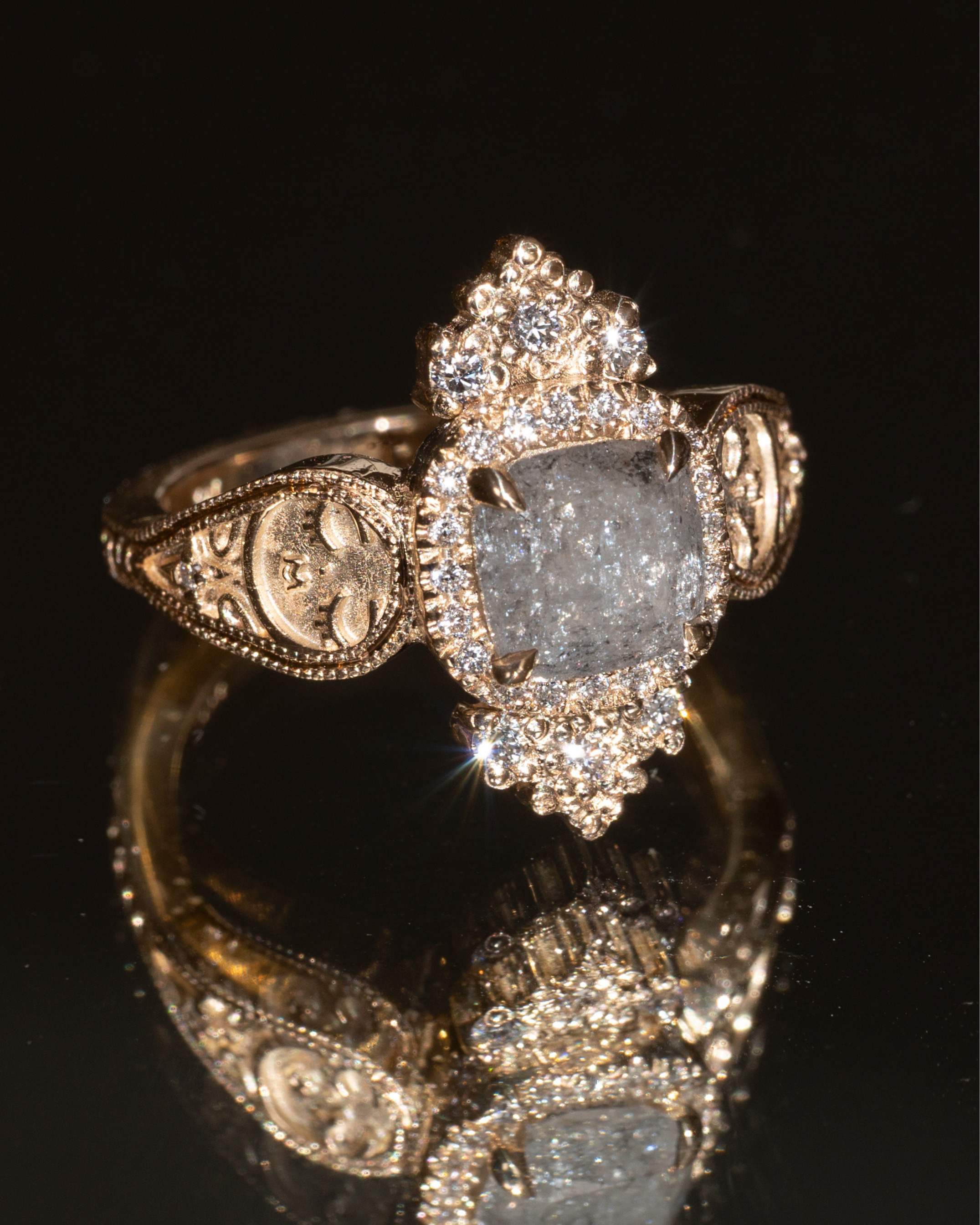 """Nora Sermez Launches """"Galaxy"""" for Salt and Pepper Diamond Lovers"""