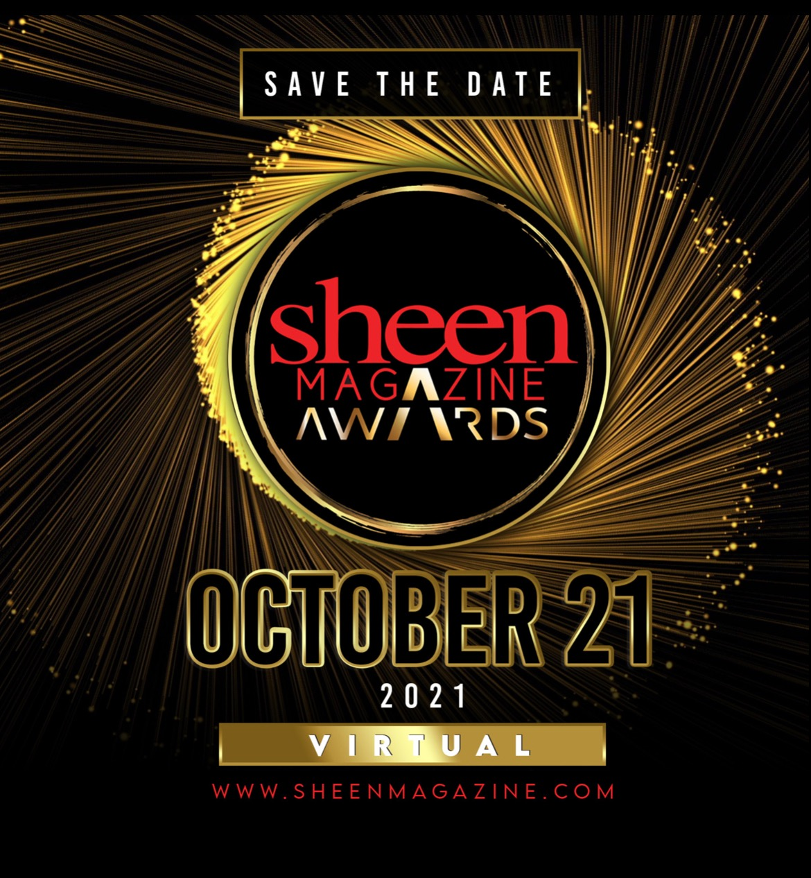 The 7th Annual SHEEN Awards (Formerly the Kimmie Awards) Continue Virtually for 2021