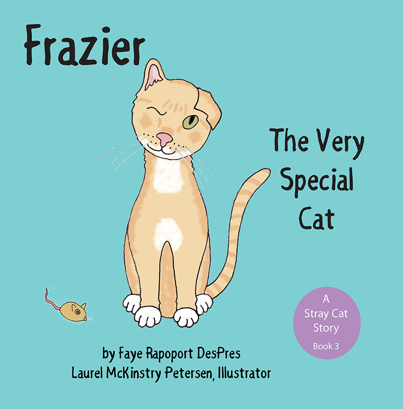 """A """"Very Special Cat"""" Loses an Eye and Wins Hearts in a Picture Book Launching on National Cat Day"""
