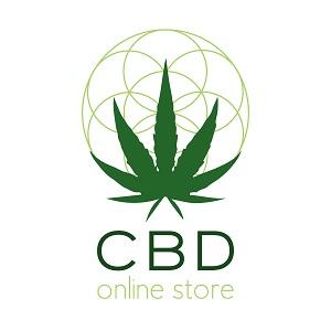 CBD Online Store Signs with Rollies Hemp