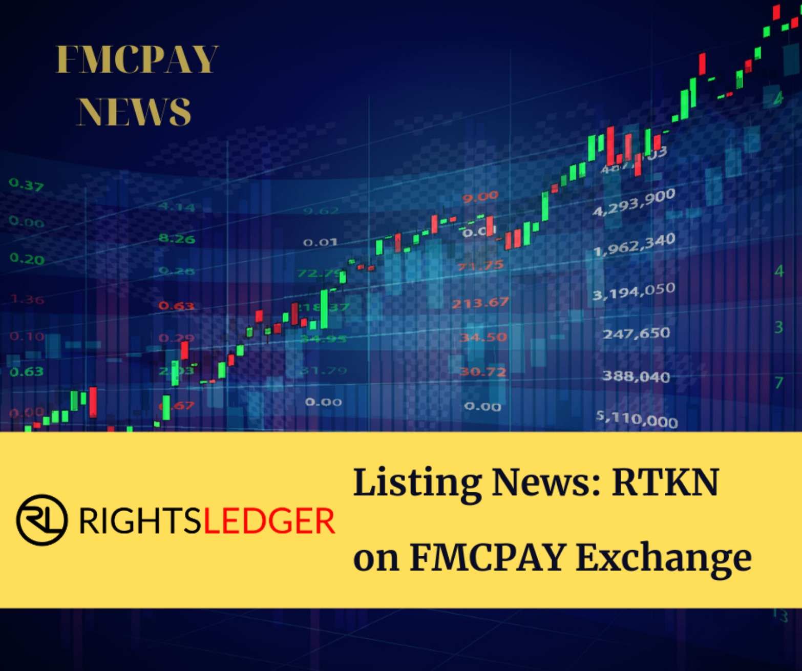 RightsLedger (RTKN) is Now on FMCPAY Exchange