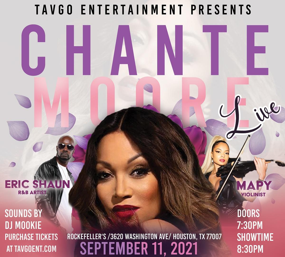 Multi-Award Winning R&B Hummingbird Chante' Moore Live in Concert Powered by TavGo Entertainment