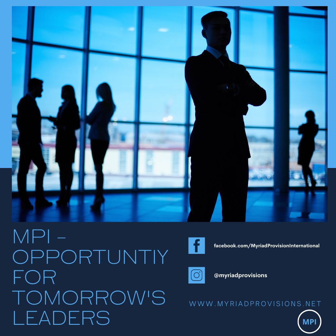 Myriad Provisions International Gives Opportunity for Tomorrow's Leaders