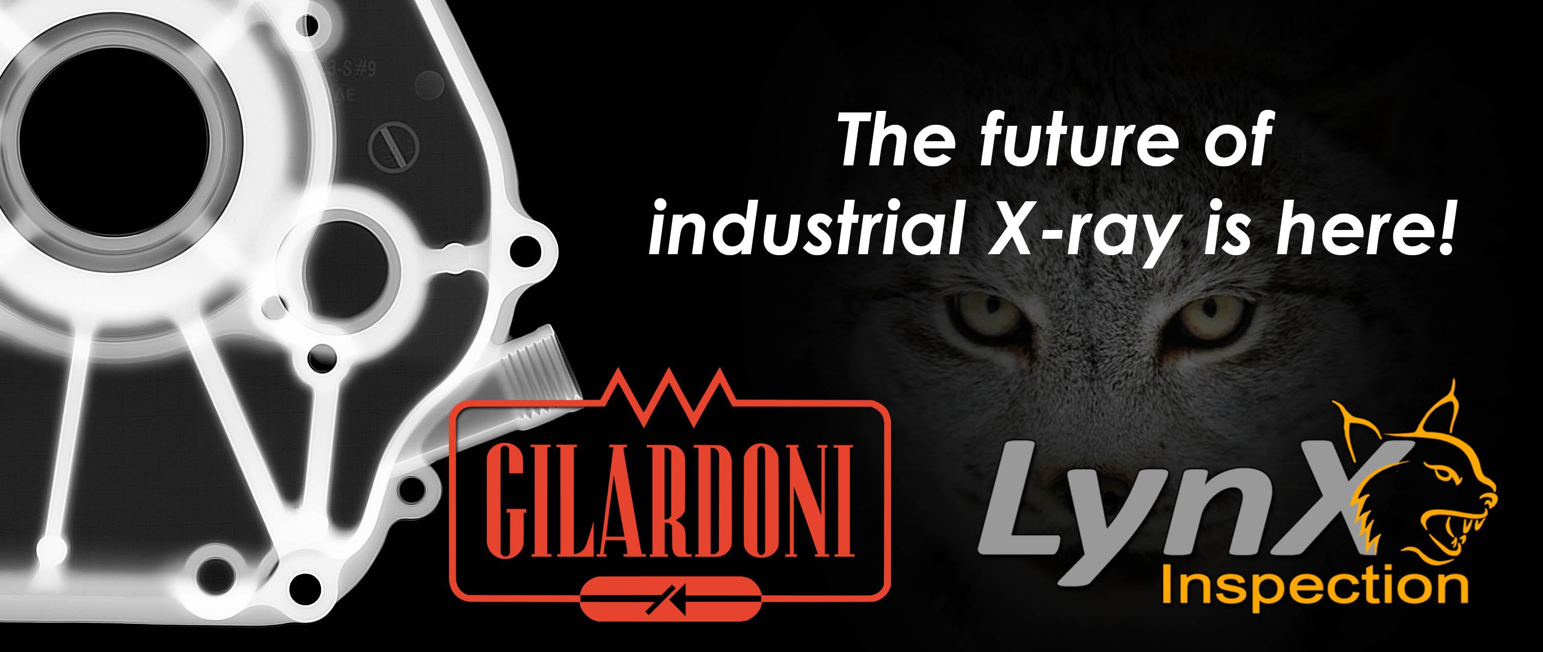 Gilardoni and LynX Inspection Announce a Strategic Partnership for the NDT Market