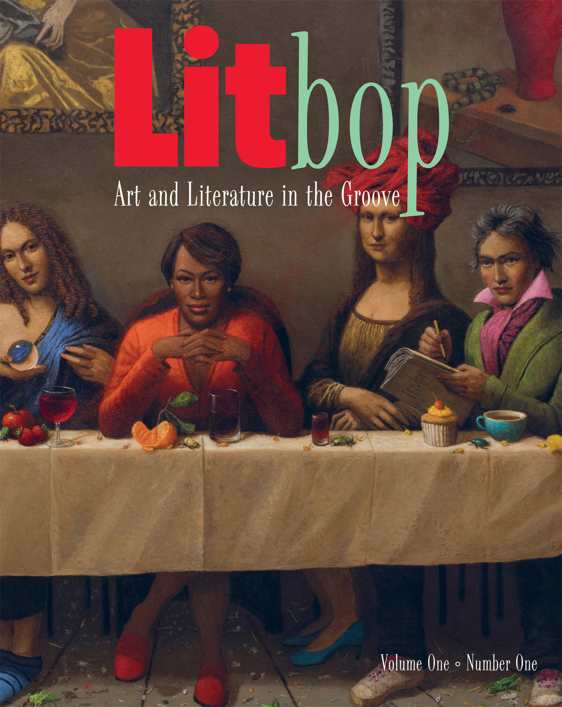 """Publisher Thrilling Tales Releases Its First Literary Journal, """"Litbop, Art and Literature in the Groove"""""""