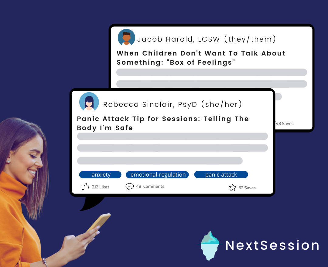 NextSession Revolutionizes How Mental Health Professionals Access Resources & Get Support from Their Peers
