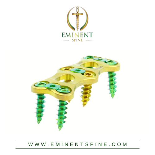 Eminent Spine's Anterior Cervical Plate System Receives FDA Clearance for Enhanced Curvature and Low-Profile Locking Tab